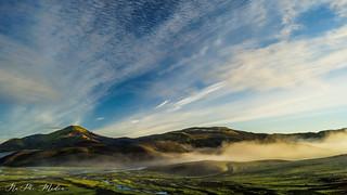 Sunrise iceland highlands