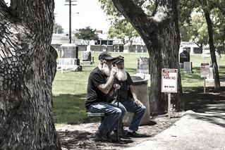 Memorial Day Downey Cemetery   by pamlane
