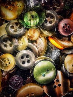 Flea Market Find: Buttoned Up