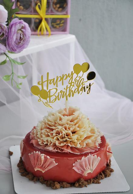 Crazy Happy Birthday Cake Topper