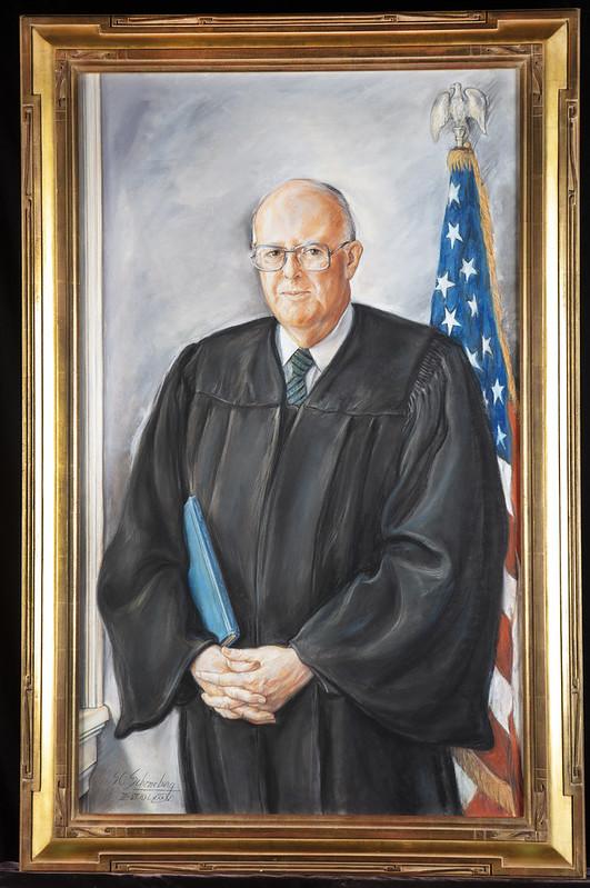 Portrait of Hon. Judge Robert F. Peckham, San Jose US District