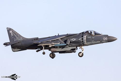 AV-8B+ 165429 WE-06 VMA-214 Yuma WTI 1-18   by Ivan Voukadinov