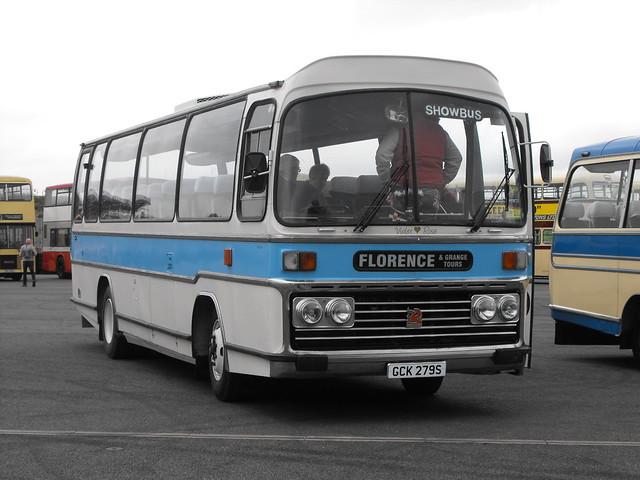 GCK 279S, Bedford YLQ, Plaxton Body (C45F), 1978 (t.2018)