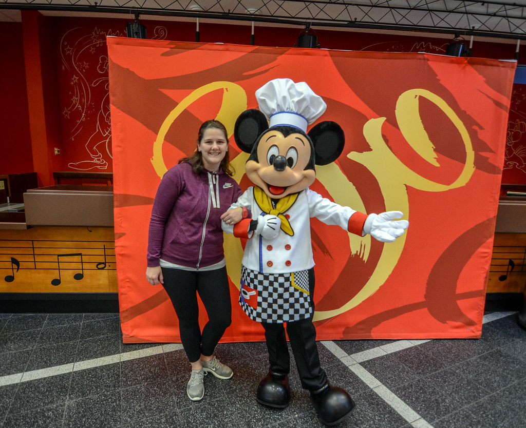 Melissa and Chef Mickey All Star Music Resort