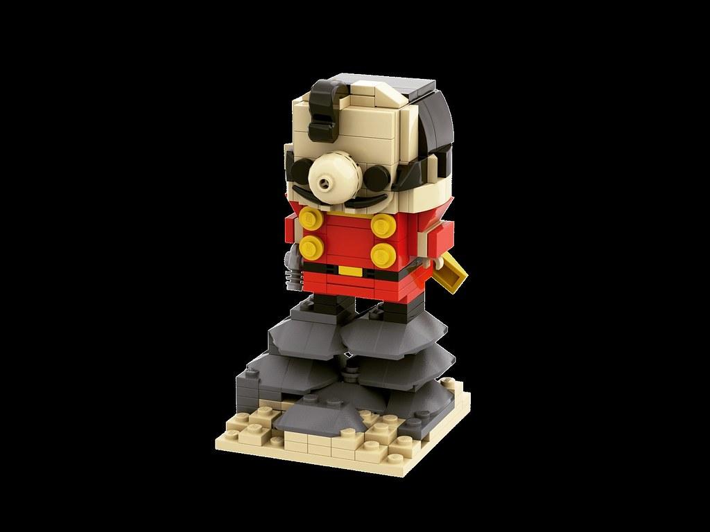 再造人006 Brickheadz 出賣年齡系列 Cyborg006 Chanchanko 張々湖