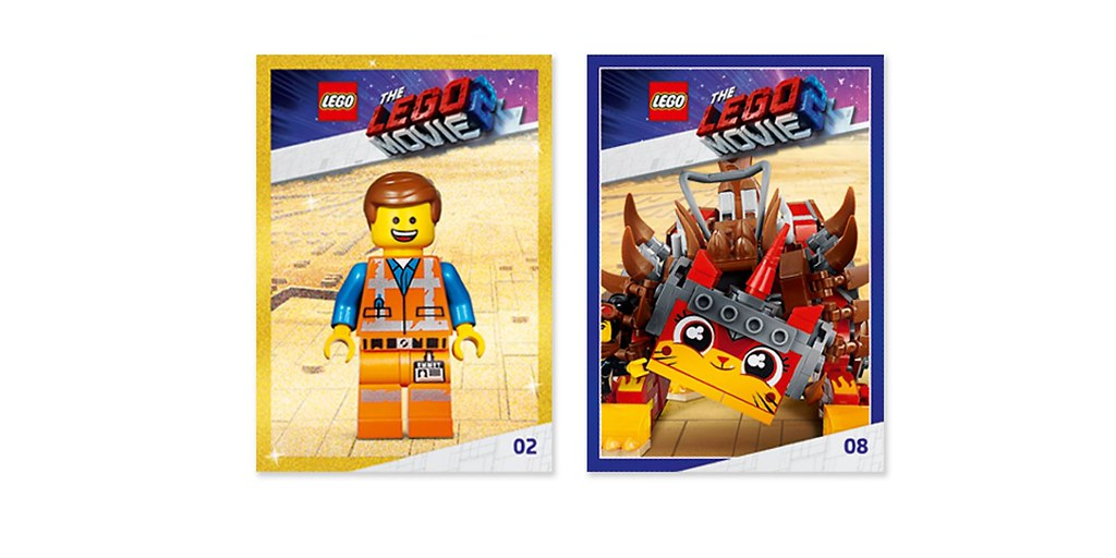The Lego Movie 2 Awesome Trading Cards 5005775 Read More Flickr