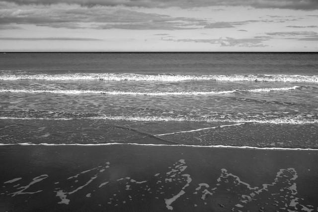 The beach near Hornsea