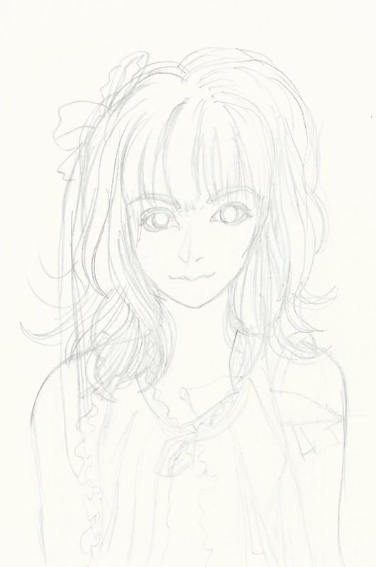 Kamei Eri Second Manga pen drawing I