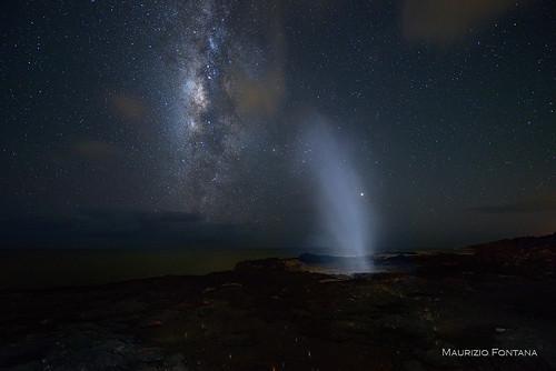 hawai kauai notte night stelle stars star sky sea milky way milkyway