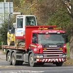 Williams Plant Hire BU03 ZWZ at Welshpool
