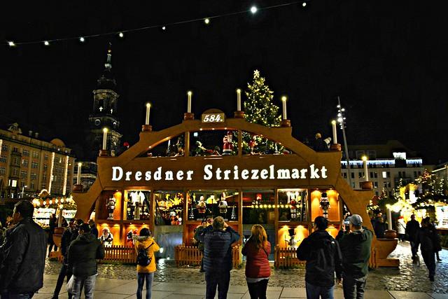 The Striezelmarkt, Christmas Market, Dresden, Germany