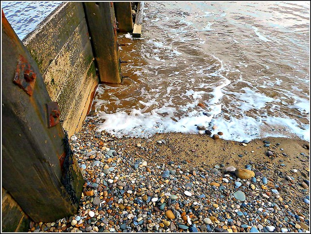 Timber ..Water  & .Pebbles ..