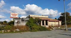 Abandoned Garden View Chinese Restaurant - Dartmouth, Nova Scotia
