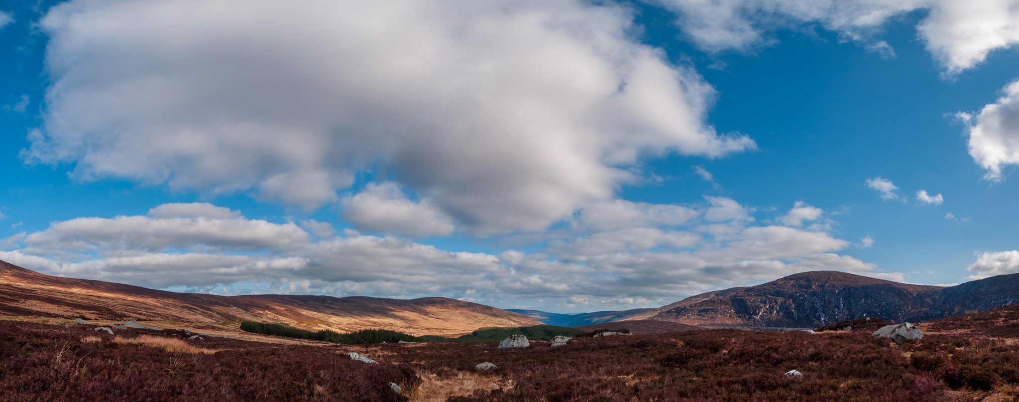 Wicklow Mountain Panorama