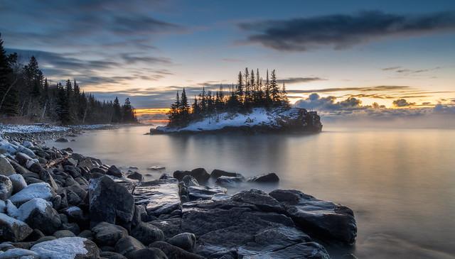 Sunrise at the Rock
