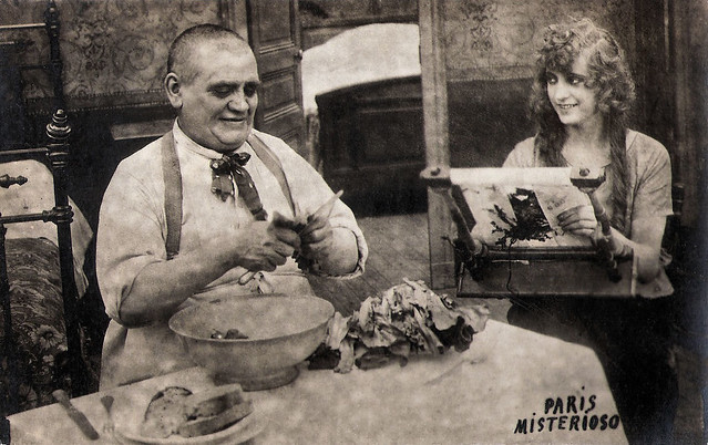 Riley Hatch and Pearl White in The Exploits of Elaine (1914)