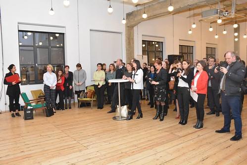 დამიანის უფლებათა დამცველების დაჯილდოება 12.12.18 Embassies of France and Netherlands Award Human Rights Defenders