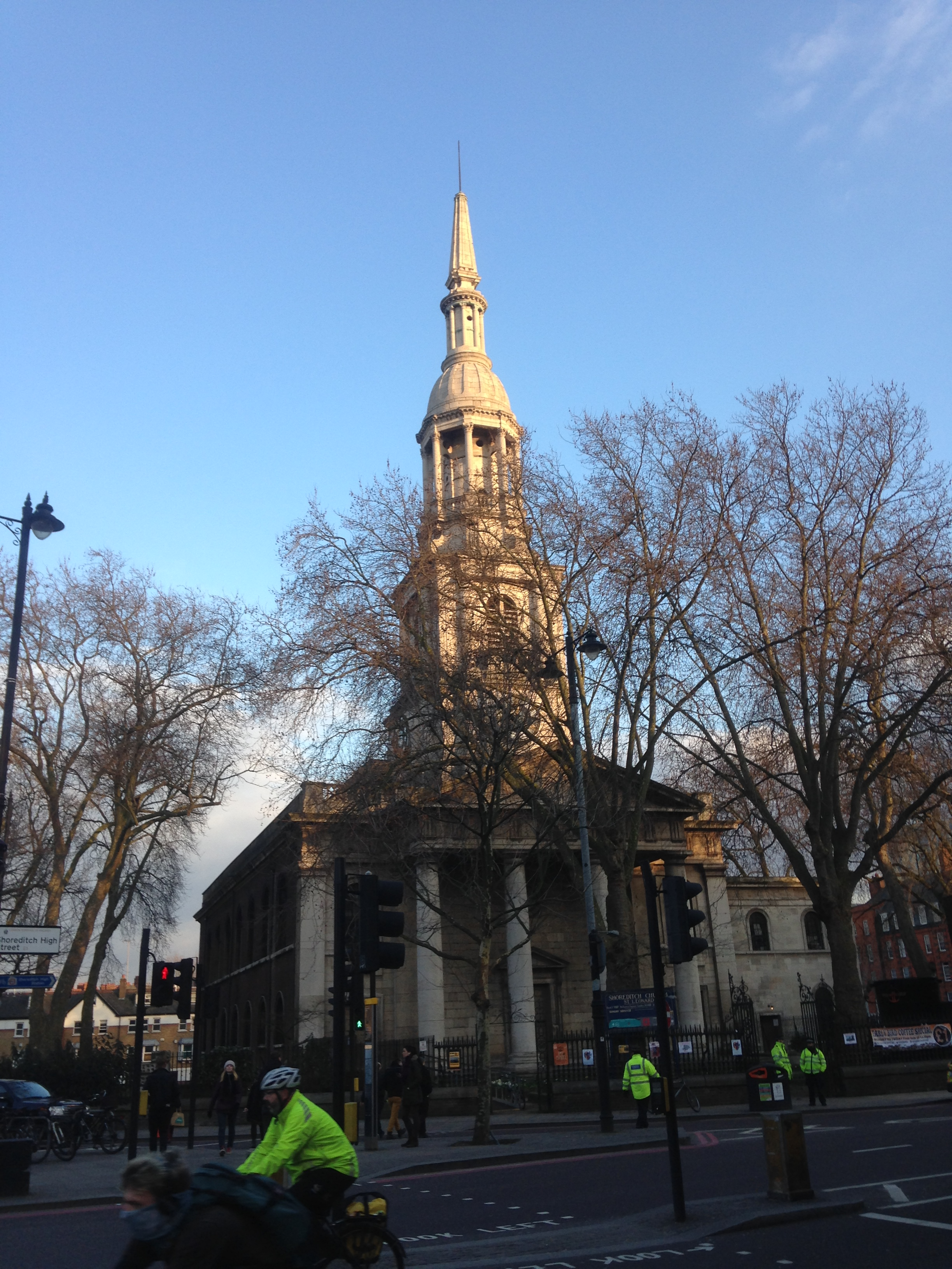 St Leonard, Shoreditch, London
