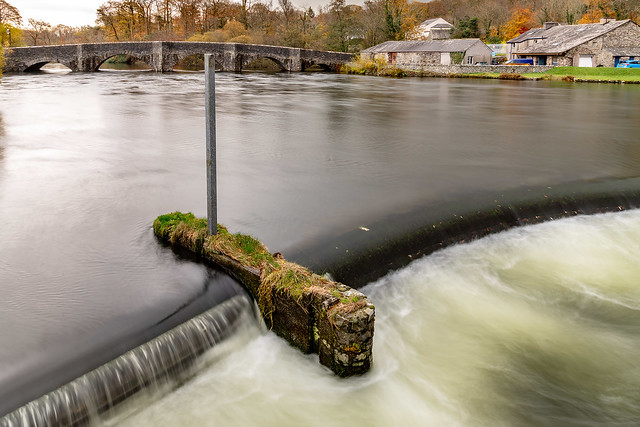 Newby Bridge and the River Leven