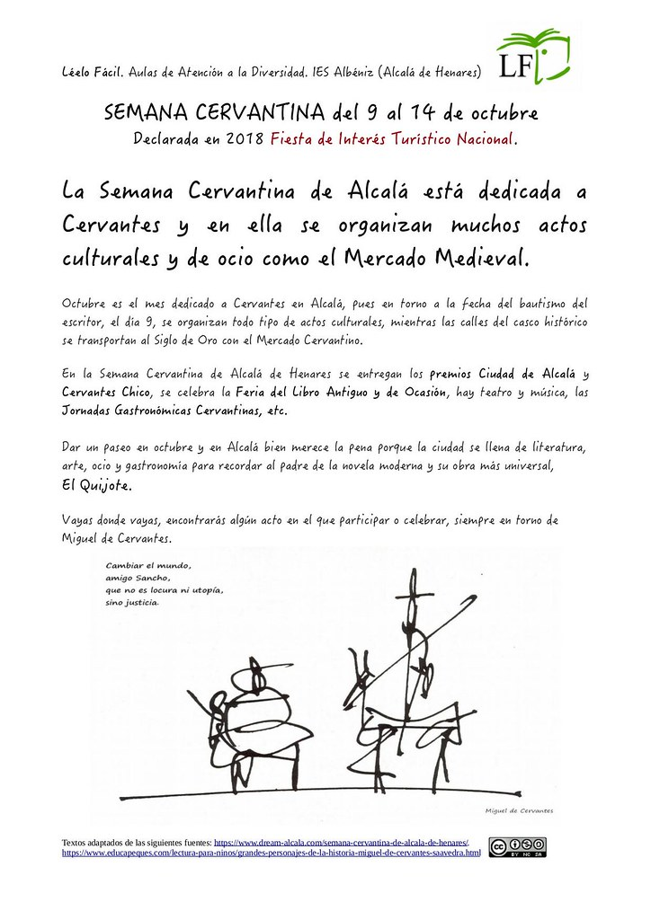 Semana Cervantina Jpg 1 Ies Albéniz Alcalá De Henares Flickr
