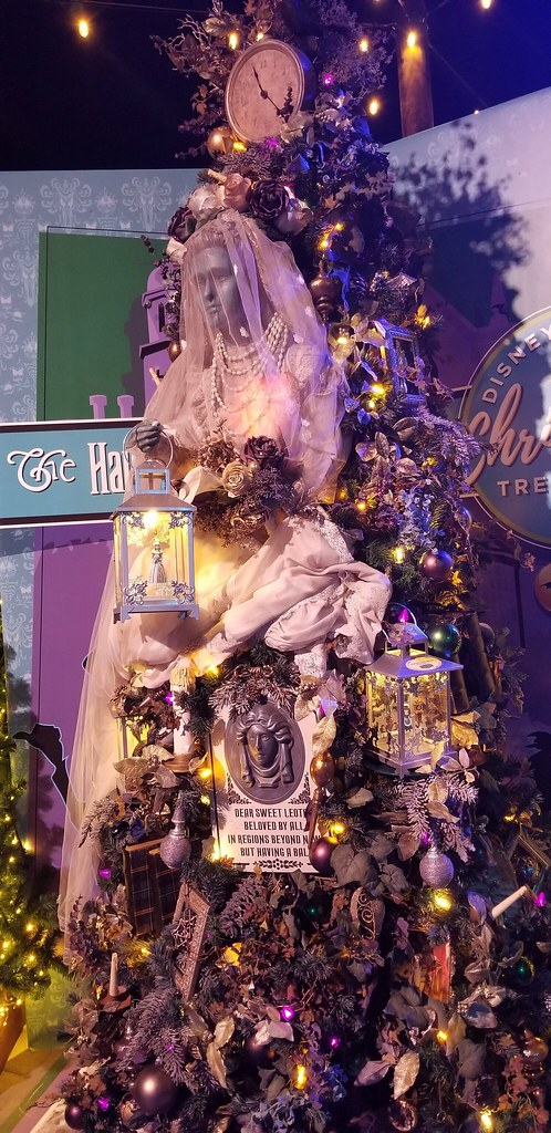 Disney Springs Christmas Tree Trail Haunted Mansion Flickr