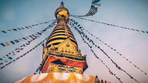 asia nepal kathmandu swayambhunath swayambhunathstupa kathmanduvalley temple stupa sony sonyα6300 sonyepz18105mmf4goss