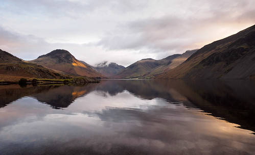 Wastwater sunrise | by Alf Branch
