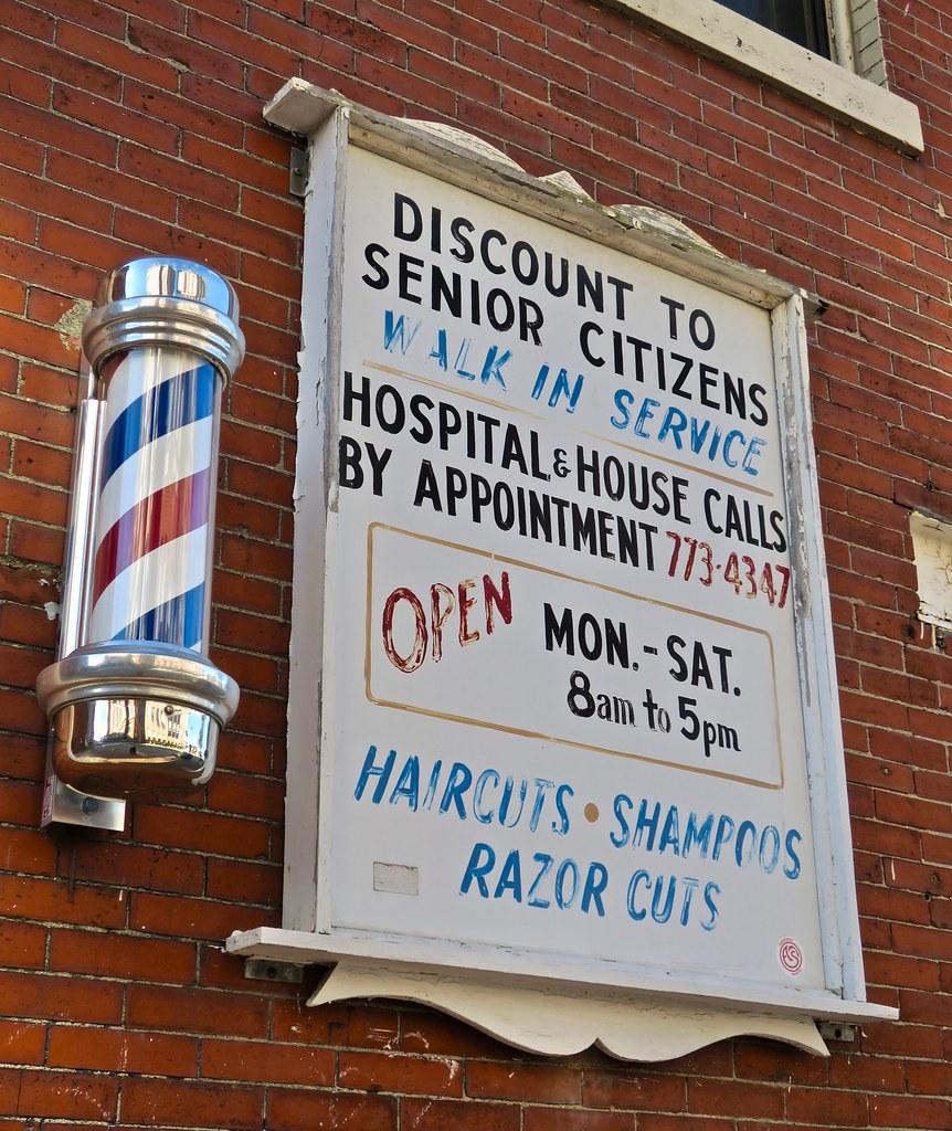 Senior Citizens Barber Shop, Portland, ME   Senior Citizens …   Flickr