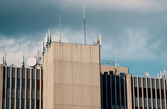 Building Rooftop Antennas - Topeka, Kansas