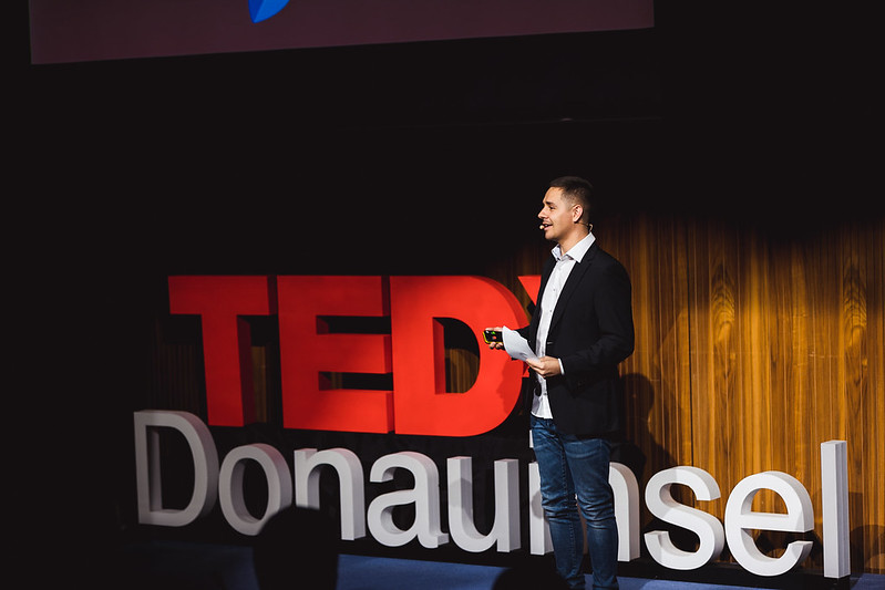 """Science, not fiction!"" TEDxDonauinsel 2018 by David Pan #TEDx"