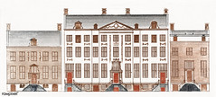 Amsterdam canal houses on the Herengracht 471-477 by Johan Teyler (1648-1709). Original from The Rijksmuseum. Digitally enhanced by rawpixel.