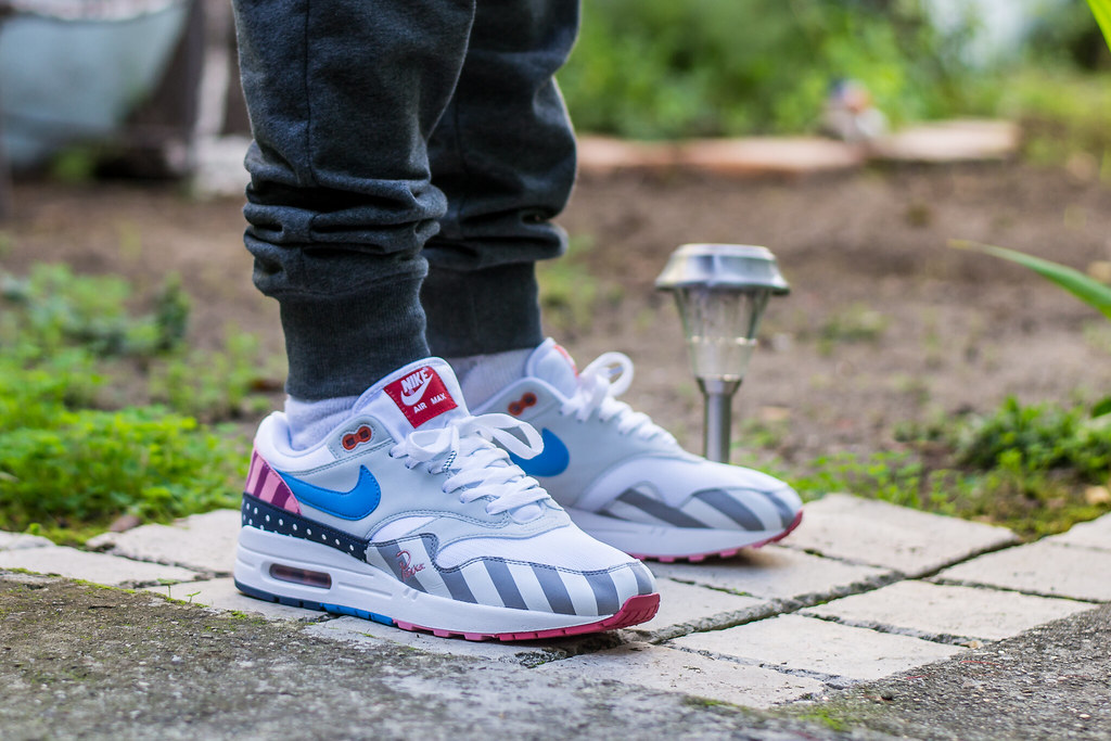 Parra x Nike Air Max 1 wdywt on feet | My review of these: w