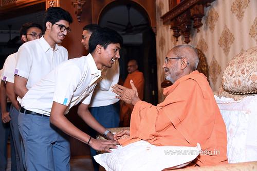 Std-10-11-12-visit-to-Haridham-for-Swamishree's-Blessings-(48) | by Atmiya Vidya Mandir