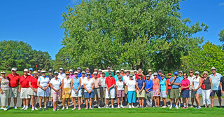 Another picture perfect day for our Charity golf tournament in support of Fun with Books. The $2200 raised was donated to pay for the publication of their final book. Thanks to all who helped us support this children's literacy program over the years.
