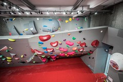 New boulderhall right