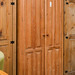 Tall pitch pine wardrobe E300