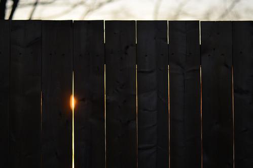 canada ontario paulboudreauphotography niagara d5100 nikon nikond5100 nikkor50mm18 sunset fence crack wood stcatharines