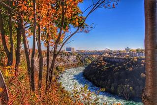 Niagara Falls Ontario Canada ~ Whirlpool - Autumn   by Onasill ~ Bill Badzo
