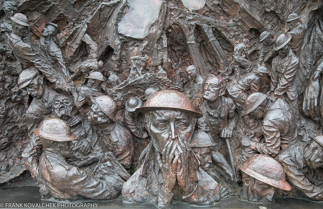 The horror of the Blitz, Battle of Britain Monument