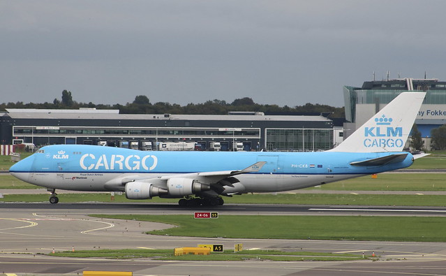 PH-CKB Boeing 747-406ERF KLM Cargo operated by Martinair