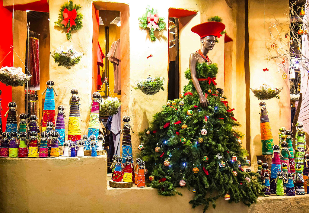 Christmas In South Africa Images.South Africa Christmas Tree Johannesburg Airport Shop