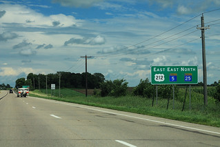 US212 MN5 East MN25 North Sign | by formulanone