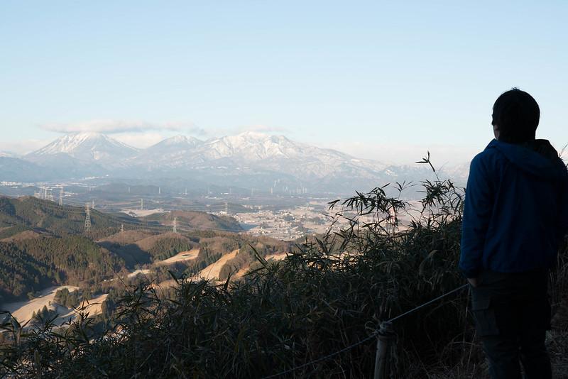 羽黒山から日光連山