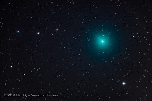 Comet Wirtanen / 46P on December 6, 2018 | by Amazing Sky Photography