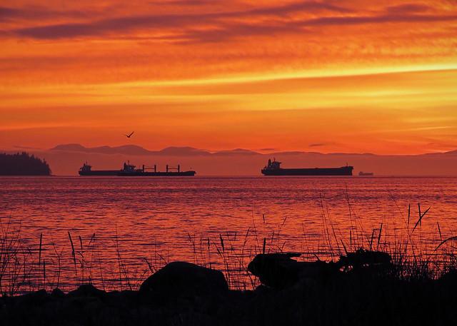 Ambleside Sunset 5:06pm