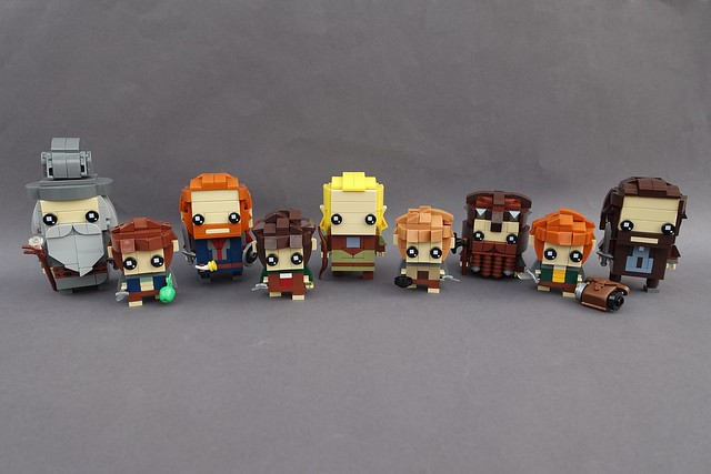 The Fellowship of the BrickHeadz