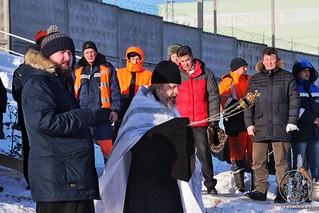 18.01.2019 | Освящение воды на водозаборе