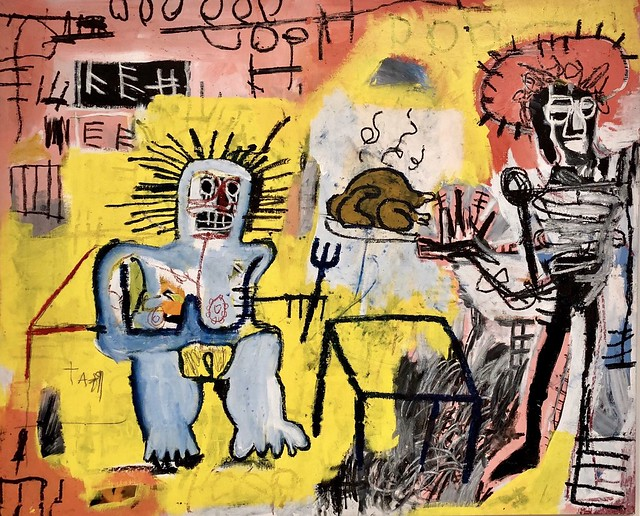 Arroz con Pollo, 1981, Jean-Michel Basquiat
