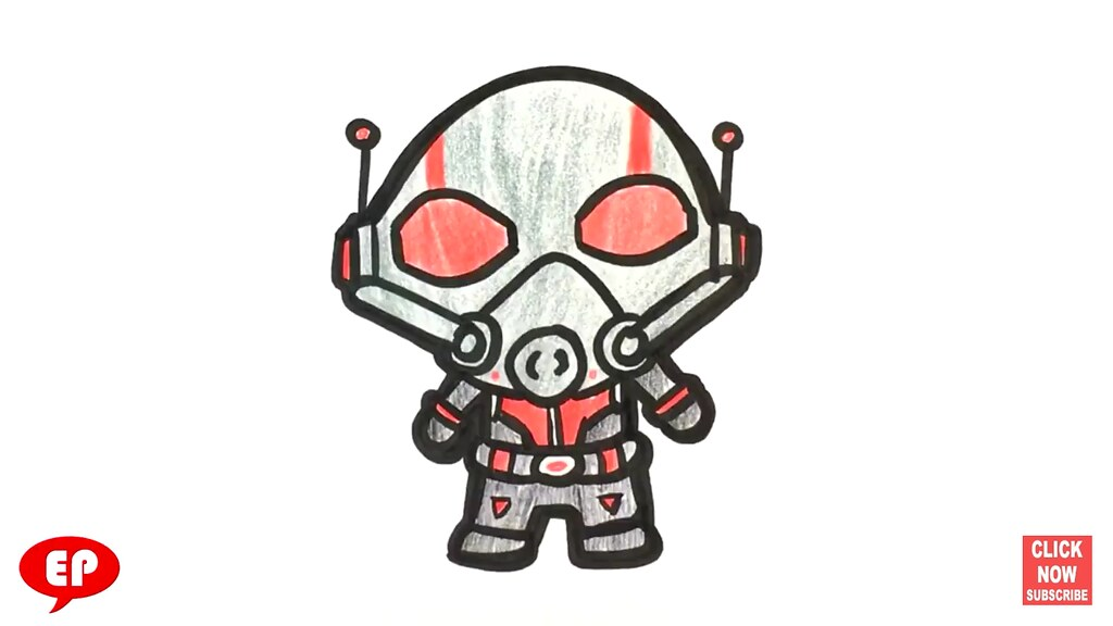 How to Draw Ant-man - Cute - Easy Pictures to Draw | Flickr