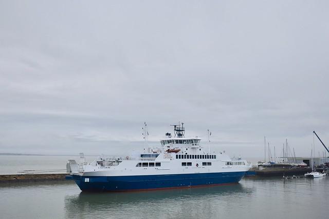 Le Verdon-sur-Mer (Pointe de Grave) - Navire L'Estuaire  - 11/11/18
